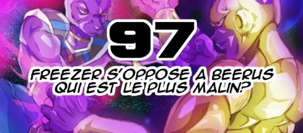 Dragon Ball Super 97 : Freezer s'oppose à Beerus, qui est le plus malin ?