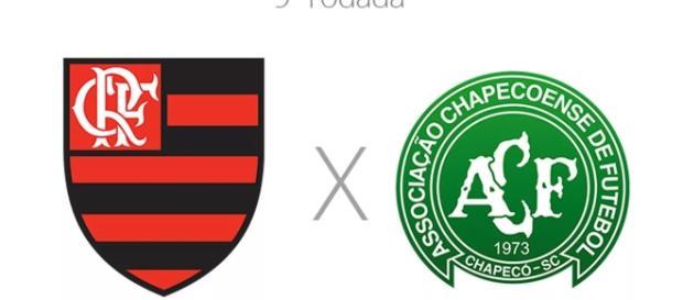 Flamengo e Chape estão separados por dois pontos (Foto: Google)