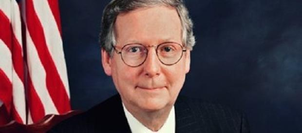 Reports suggest it's all a ploy by Senate Majority leader Mitch McConnell. [Image via ABC News/Go.com]