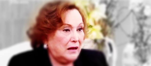 Nicette Bruno fica irritada com comentário preconceituoso (Foto: Captura de vídeo)