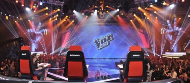 Plató de 'La Voz Kids': Fotos - FormulaTV - formulatv.com