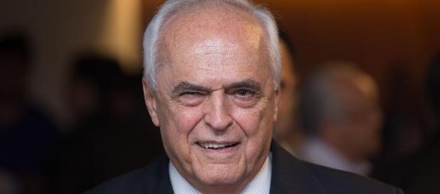 Presidente Leco, do São Paulo, após eleição