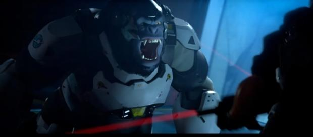 "Winston offers 500 health points, which is enough to make him a force to be reckoned in ""Overwatch"" (via YouTube/Xbox)"