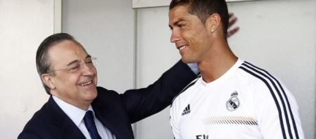 El reclamo de Cristiano Ronaldo a Florentino Pérez vía WhatsApp ... - nexofin.com