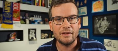 """John Green will release a new novel after five years since """"The Fault In Our Stars"""" - YouTube/vlogbrothers"""