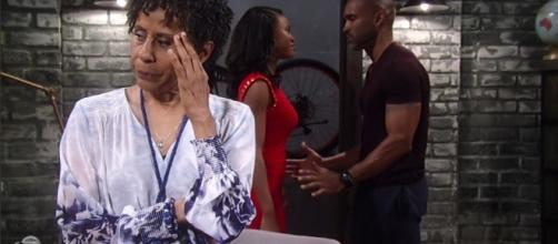 "Auntie Stella, Jordan, and Curtis on ""General Hospital."" Soapsheknows.com"