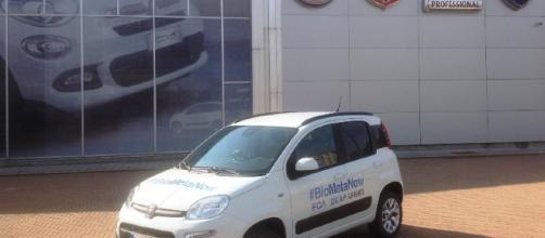 Fiat Panda alimentata con il biometano prodotto a Milano