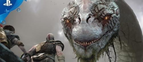 """God of War 4"" will be released as a PlayStation 4-exclusive title (via YouTube/PlayStation)"