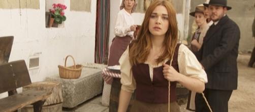Il Segreto, anticipazioni Spagna: Julieta, la nuova Pepa salva la vita a Juanita