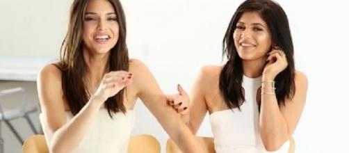 Kendall & Kylie Jenner - Photo by HollywireTV/YouTube