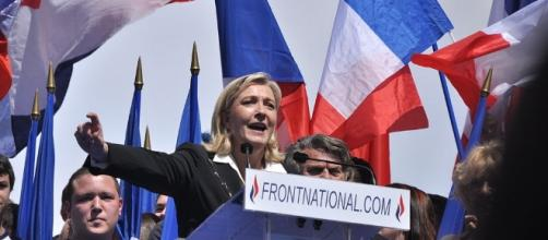 Le Pen won a seat in the National Assembly, along with seven other candidates from the National Front- Blandine Le Cain via Wikimedia Commons