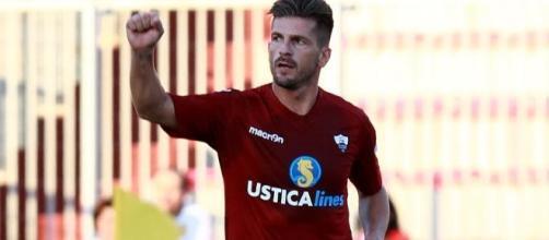 L'esperto centrocampista Maurizio Ciaramitaro potrebbe giocare un'altra stagione con la maglia del Trapani