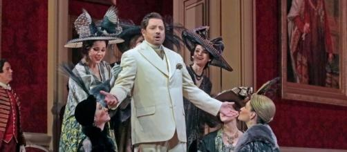 Matthew Polenzani as the Italian Singer in Richard Strauss' 'Der Rosenkavalier.' Photo: Ken Howard/Metropolitan Opera, used with permission.