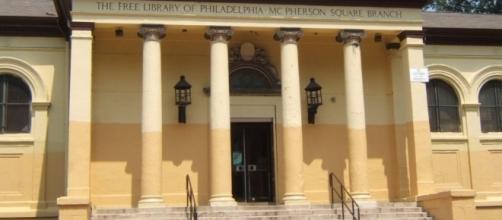 McPherson Square Library, Philadelphia / By Davidt8 (Own work) [Public domain], via Wikimedia Commons