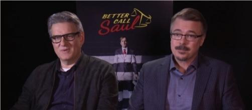 "Peter Gould & Vince Gilligan Talk About the Origins of ""Better Call Saul"" - Sony/YouTube"