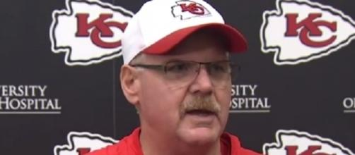 The Chiefs have signed head coach Andy Reid to a contract extension -- Kansas City Chiefs via YouTube
