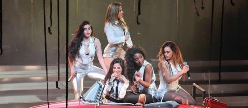 The remaining members will continue to promote as Fifth Harmony despite Camila Cabello's exit. (Wikimedia/Brynn Michael)