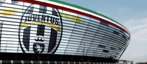 Una veduta esterna dello Juventus Stadium, da poco ribattezzato Allianz Stadium per ragioni di sponsor