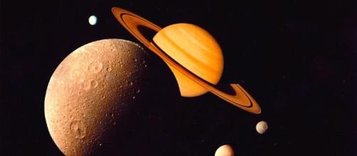 Wikimedia Commons. Saturn in Retrograde