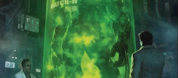 Capa da primeira edição da nova saga da Marvel
