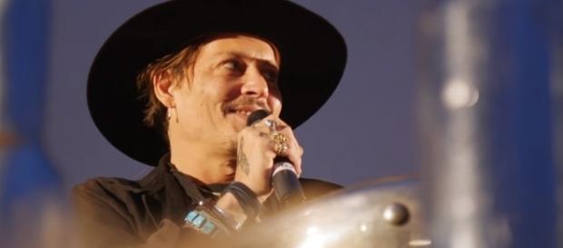 Johnny Depp em Glastonbury Festival