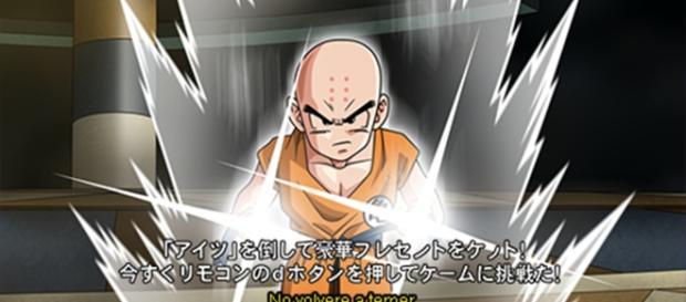 """¿Krilin utilizará su estado """"no-ego"""" en el torneo del poder?."""