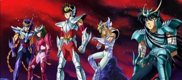 O anime ''Os Cavaleiros do Zodíaco'' foi exibido pela primeira vez no Brasil em 1994. Foto: Divulgação.