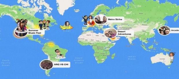 Snap Map : la nouvelle fonctionnalité Snapchat qui permet de localiser vos amis