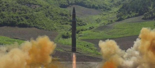 Tensions rise as Washington says North Korea tested its 1st ICBM (Image Credit: sfchronicle.com)
