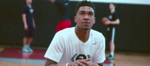 The Charlotte Hornets grabbed a draft night steal with Malik Monk at the No. 11 spot. [Image via NBA/YouTube]