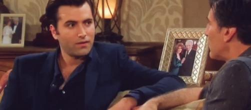 Days Of Our Lives Sonny and Deimos promo shot by NBC