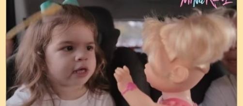 Vídeo de Valentin, filha de Mirella Santos e Ceará, viralizou na internet