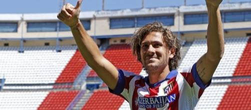 L'attaccante dell'Atletico Madrid, Alessio Cerci