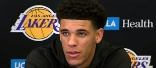 LaVar Ball boasts that his son Lonzo can take the Lakers to the playoffs in his rookie year. [Image via Youtube/Ximo Pierto]