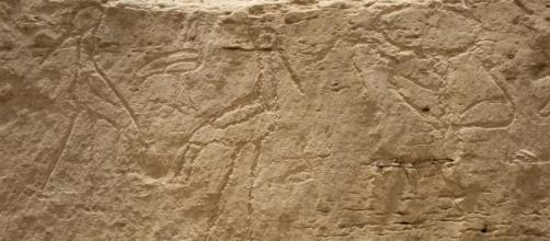 Símbolos encontrados en Egipto.