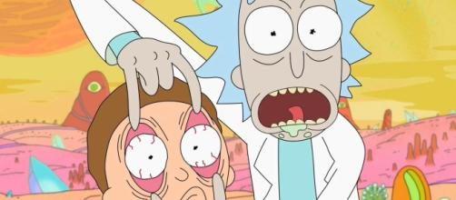 The adventures of Rick and Morty will return with Season 3's episode 2. [Image via Cinema Devil/Youtube screencap]