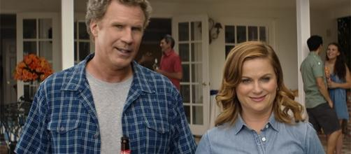 Will Ferrell and Amy Poehler play a suburban couple who are desperate to raise money for their daughter's college tuition. (YouTube/Roadshow)