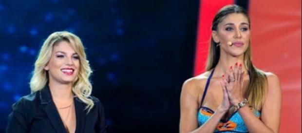 Emma Marrone e Belen Rodriguez