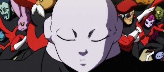 Dragon Ball Super: Jiren y el universo 11 en el torneo del poder.