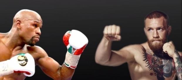 McGregor vs. Mayweather - youtube screen capture / Fight Focus