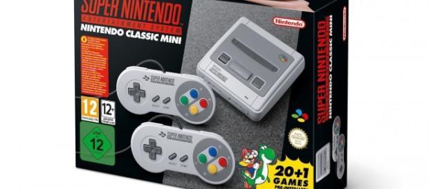 Nintendo annuncia il Super Nintendo Classic Mini