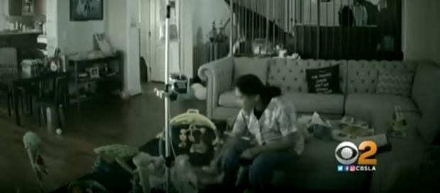 Photo from nanny cam screencapture via YouTube/CBS Los Angeles