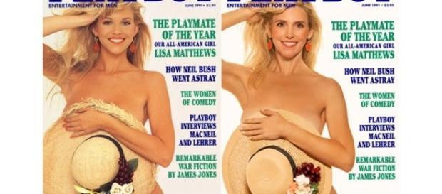 Veja as capas da Playboy recriadas 30 anos depois