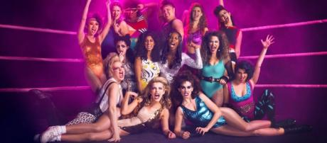 Netflix's 'GLOW' cast/Photo via Netflix