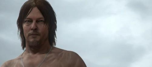 """""""Death Stranding"""" was first announced at last year's E3 (via YouTube/KOJIMA PRODUCTIONS)"""