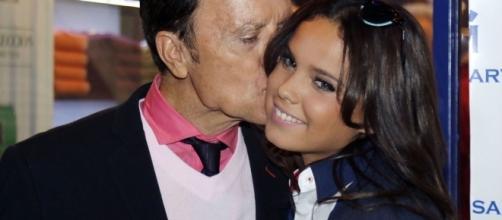 Gloria Camila y el torero José Ortega Cano