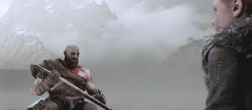 """God of War 4"" is slated to hit PlayStation 4 in early 2018. [Image via YouTube/PlayStation]"