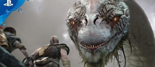"""""""God of War 4"""" takes Kratos and his son on a strange land somewhere in the Norse mythology (via YouTube/PlayStation)"""