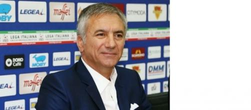 Il direttore sportivo del Lecce, Meluso. Foto Salento Giallorosso.