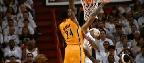 """Indiana Pacers' president Kevin Pritchard said that Paul George's decision to leave was """"a gut punch."""" (via YouTube/NBA)"""